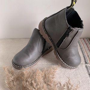 **NEW waterproof side zip ankle boots